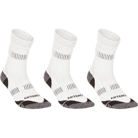 Badminton High-Rise Socks RS 900 3-Pack,