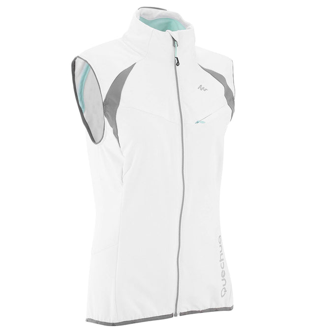 Women's Cross-Country Ski Windproof Gilet,snowy white, photo 1 of 10
