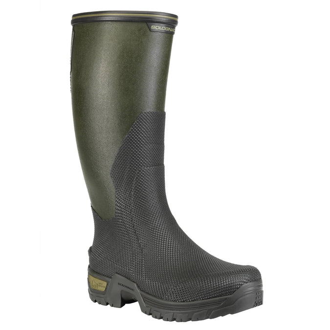 Men's Hunting Wellies Supertrack 2,dark bronze, photo 1 of 16