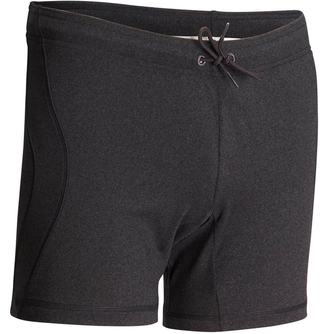 Men's Yoga Shorts Hot Dynamic Yoga+,dark gray, photo 1 of 11