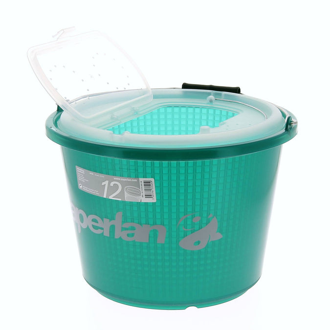 Fishing Live Bait Bucket,light blue, photo 1 of 5