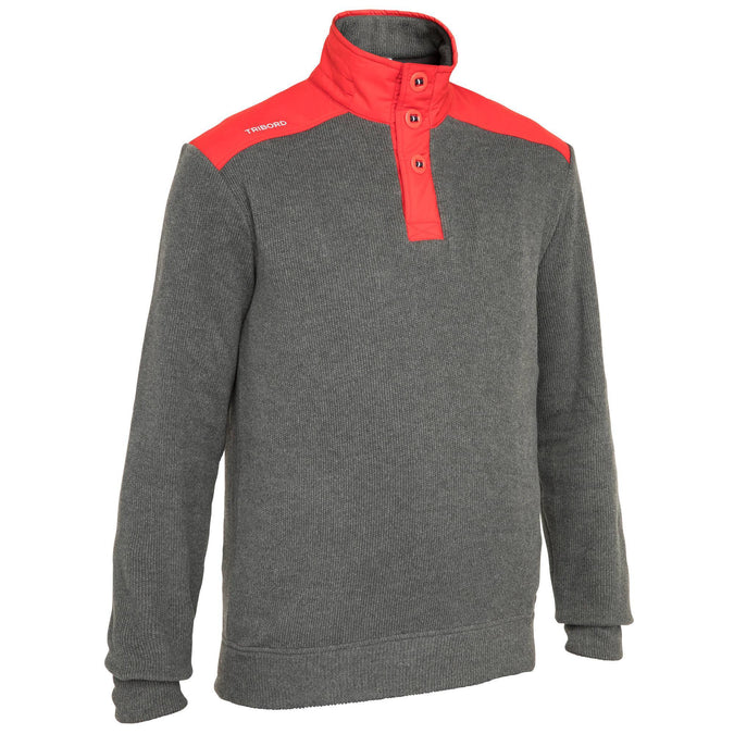 Men's Sailing Pullover Cruise,gray, photo 1 of 6