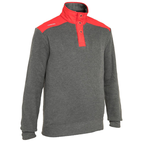 Men's Sailing Pullover Cruise,carbon gray