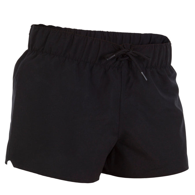 Women's Elasticated Waistband Boardshorts Tana,black, photo 1 of 11