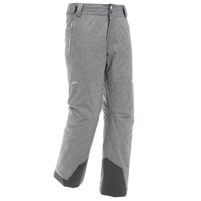 Men's Ski Pants 500,light gray, photo 1 of 6