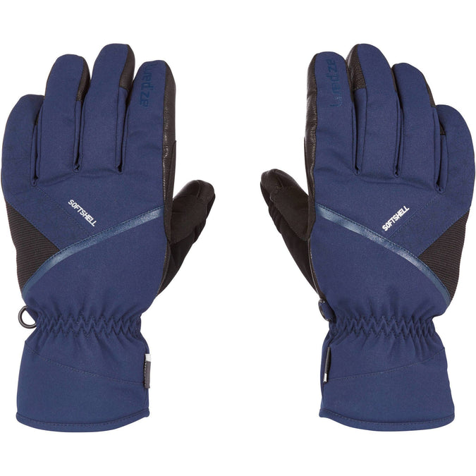 Ski Gloves 500,navy blue, photo 1 of 10