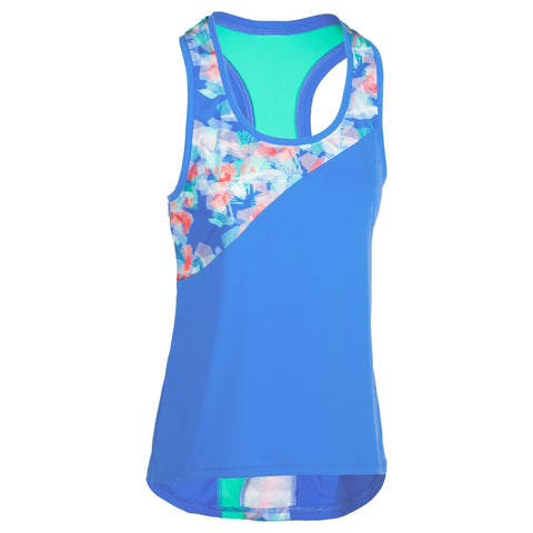 Women's Beach Volleyball Tank Top BV 500,blue