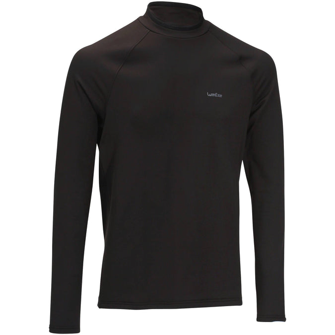 Wedze Freshwarm, Ski and Snowboard Base Layer Top, Men's,black, photo 1 of 10