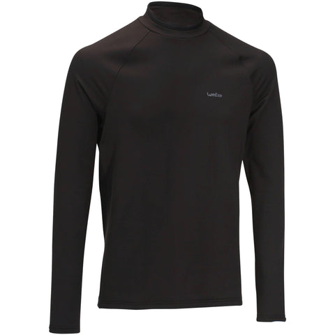 Wedze Freshwarm, Ski and Snowboard Base Layer Top, Men's,black