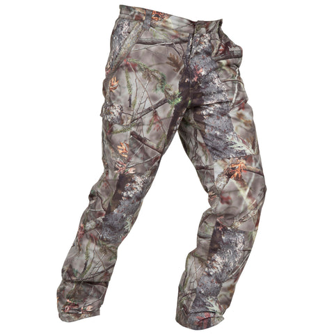 Men's Hunting Pants Posikam 100,camouflage
