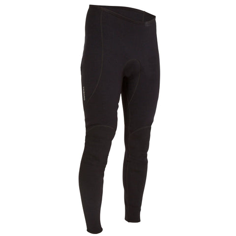 Men's Paddle & Rowing Neoprene Pants 500 - 2 mm,black