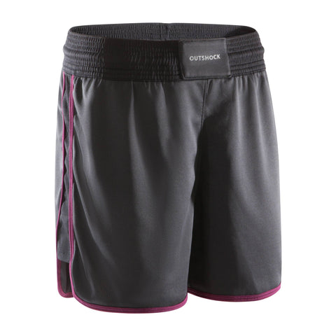 Women's Lightweight Breathable Boxing Shorts 500,