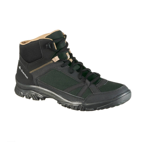 Men's Nature Hiking Boots Mid NH100,