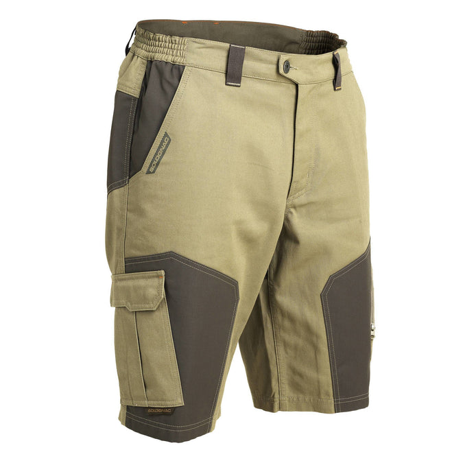 Men's Hunting Bermuda Shorts 900,khaki, photo 1 of 13