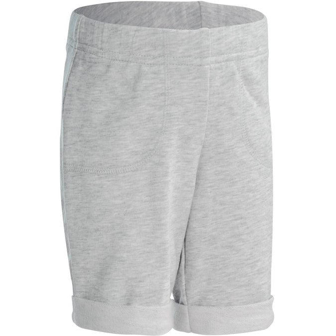 Baby Gym Shorts 100,light grey, photo 1 of 10
