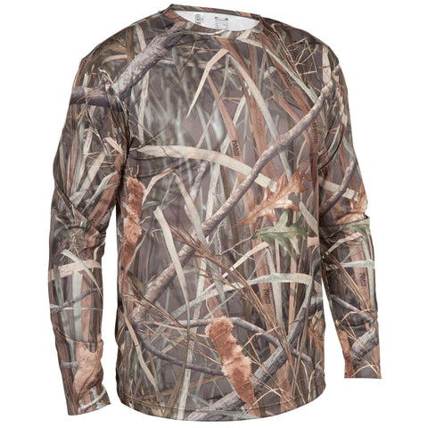 Hunting Long-Sleeve T-Shirt Steppe 300,