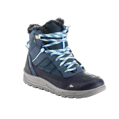 Women's Snow Hiking Boots Waterproof Active Warm SH100,