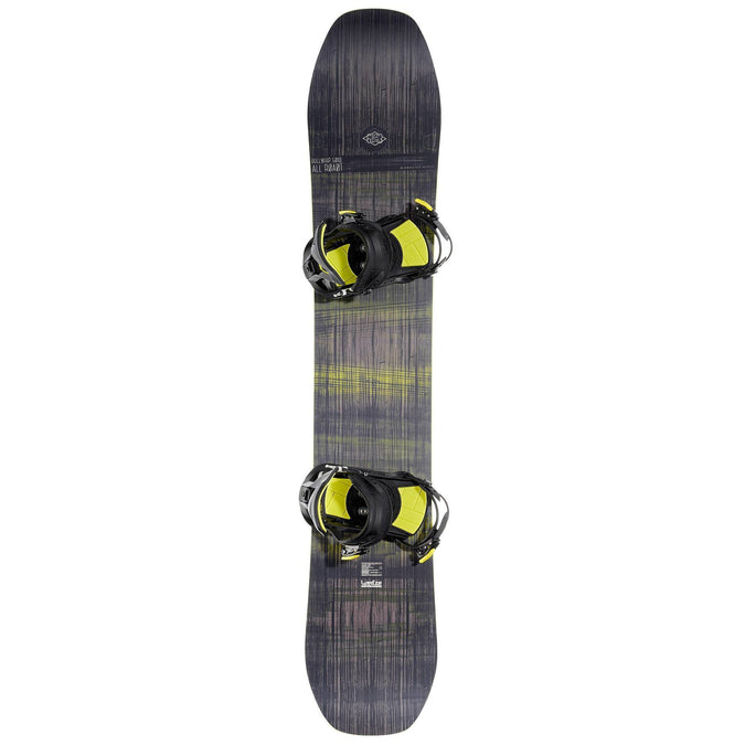 Men's All-Mountain Snowboard Bullwhip 500 All Road Package,gray, photo 1 of 12