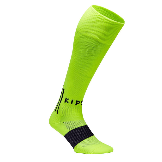 Soccer Knee-High Socks F500,neon lemon lime, photo 1 of 7