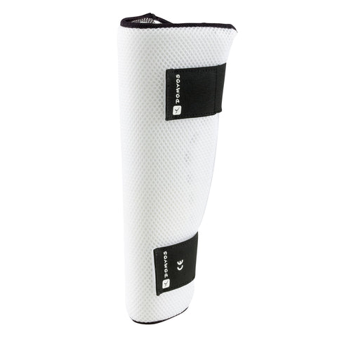 Shin Guard Air Cooling,white