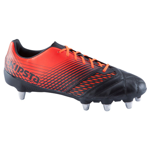 Rugby Soft Ground Boots Density 700 SG,black