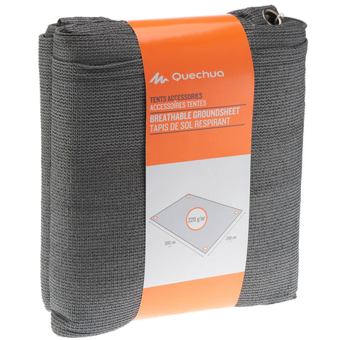 Camping Breathable Groundsheet for Tent and Living Room | 10' x 8',