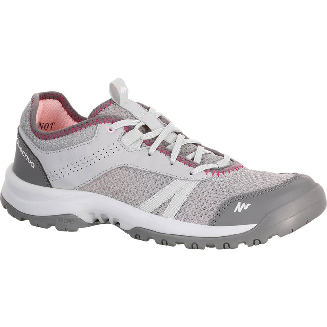 Women's Country Walking Shoes Fresh NH100,steely gray, photo 1 of 14