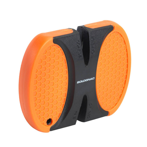 Hunting Double-Sided Quick Sharpener,neon orange