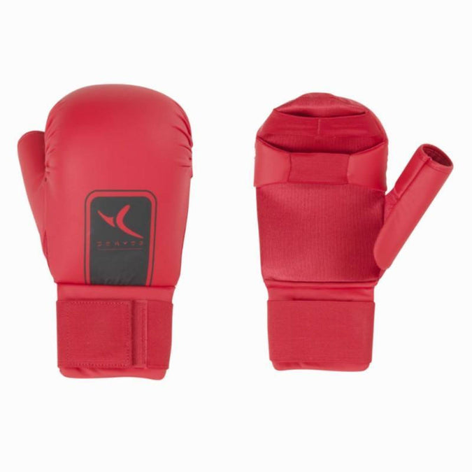 Martial Arts Karate Gloves,red, photo 1 of 1