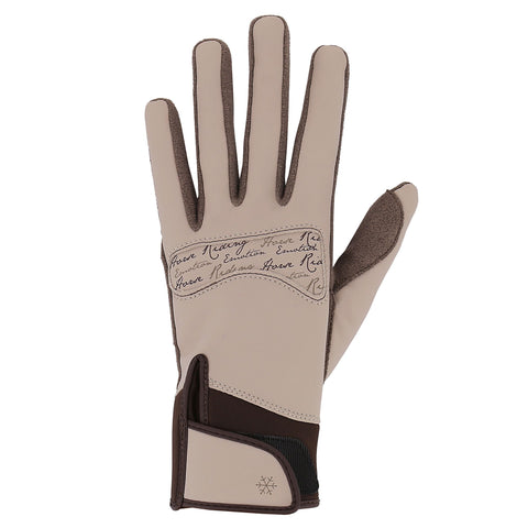 Horse Riding Gloves Kipwarm,black