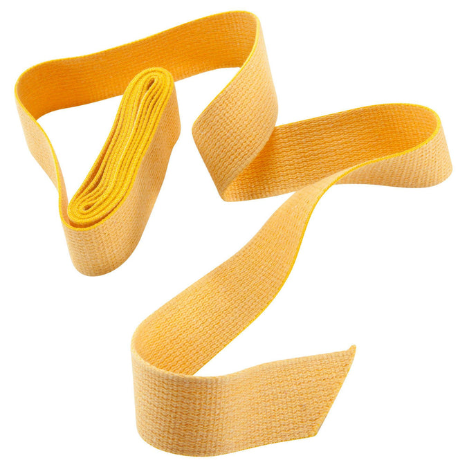 Martial Arts Belt Plain,sunshine yellow, photo 1 of 3
