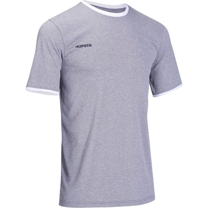 Men's Volleyball Jersey V100,steel gray, photo 1 of 6