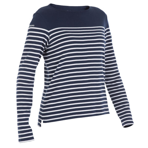 Women's Long Sleeve Sailing T-Shirt 100,