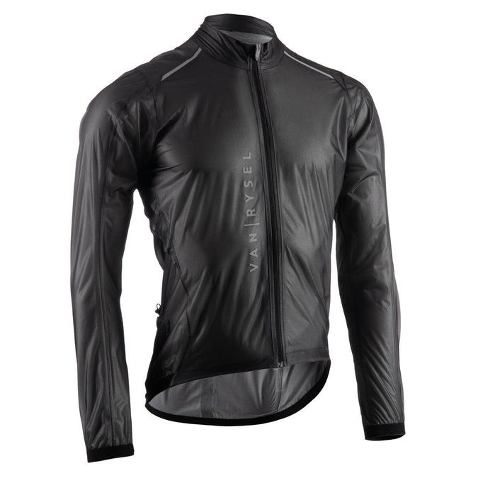 Ultralight Rainproof Cycling Racer Jacket,black, photo 1 of 5