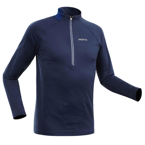 Men's Cross-Country Skiing Warm Long-Sleeved T-Shirt XC S 100,