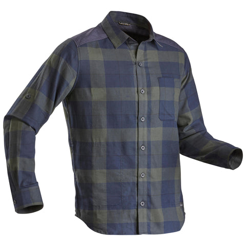 Men's Backpacking Shirt Warm Travel 100,