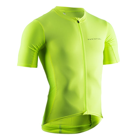 Road Cycling Jersey Neo Racer,neon lemon lime