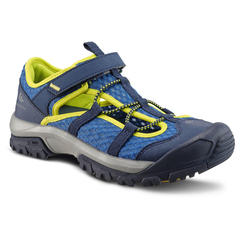Quechua MH150, Hiking Sandals, Kids',deep blue