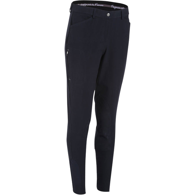 Women's Horse Riding Jodhpurs Paddock,midnight blue, photo 1 of 19