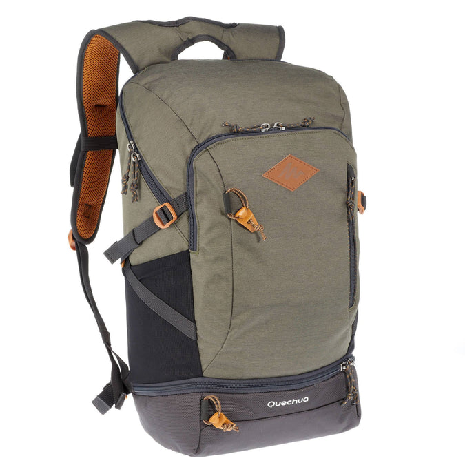 Country Walking Backpack 30 L NH500,dark ivy green, photo 1 of 25