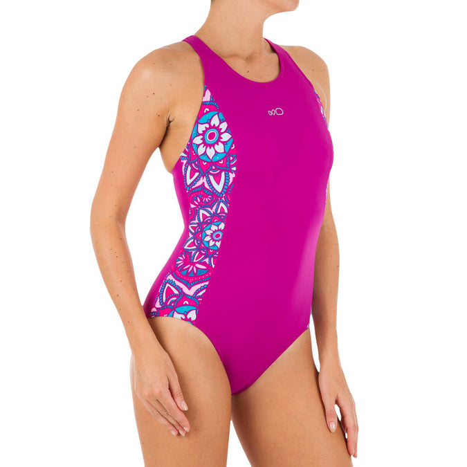 Women's One-Piece Swimsuit Vega,fuchsia, photo 1 of 11