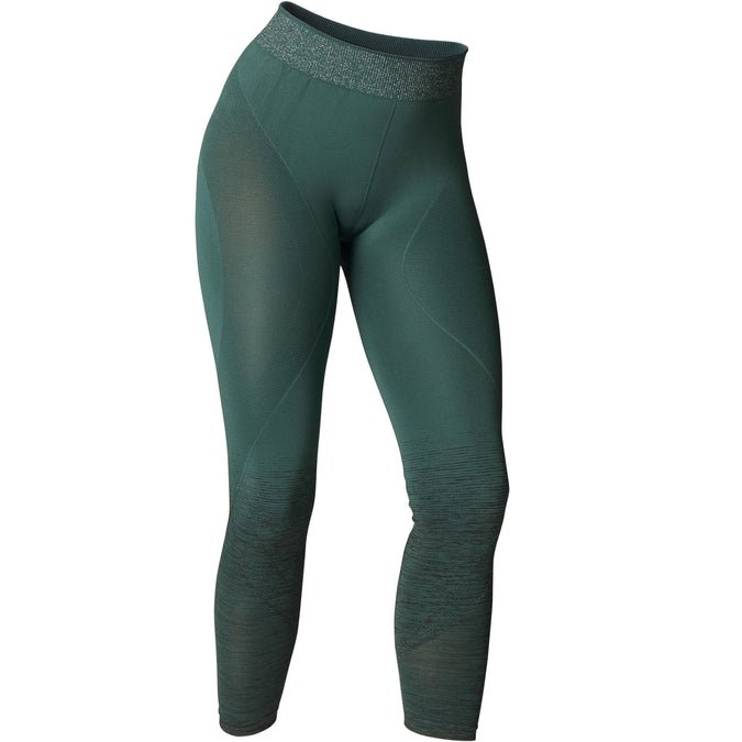 Yoga Seamless 7/8 Leggings,dusty green, photo 1 of 8