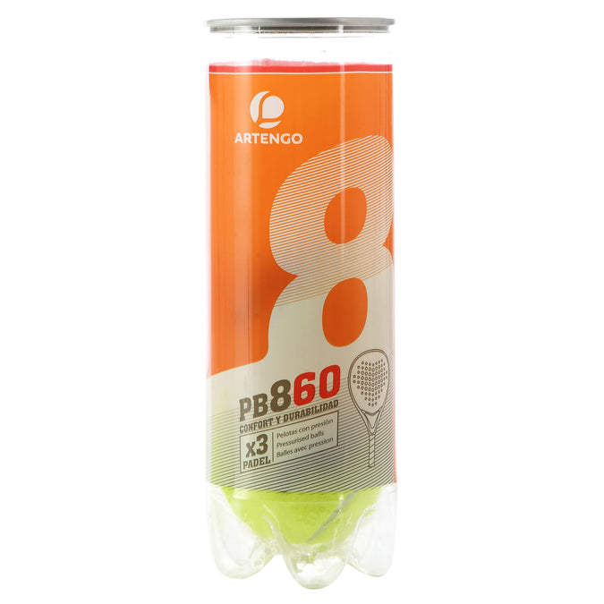 Paddle Balls PB860,green yellow, photo 1 of 3