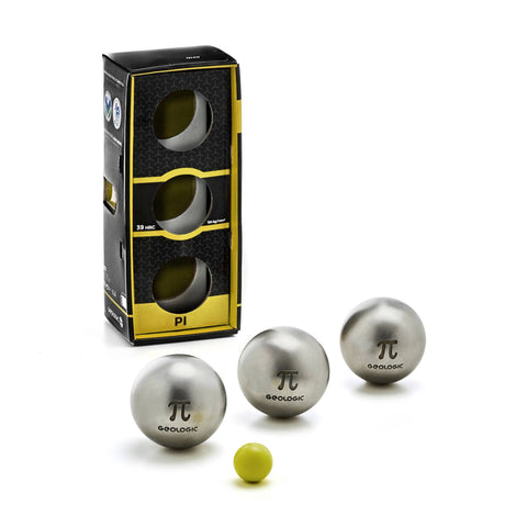 Pétanque Match Semi-Soft Stainless Steel Boules PI,