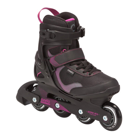 Women's Fitness Inline Skates Fit 3,black