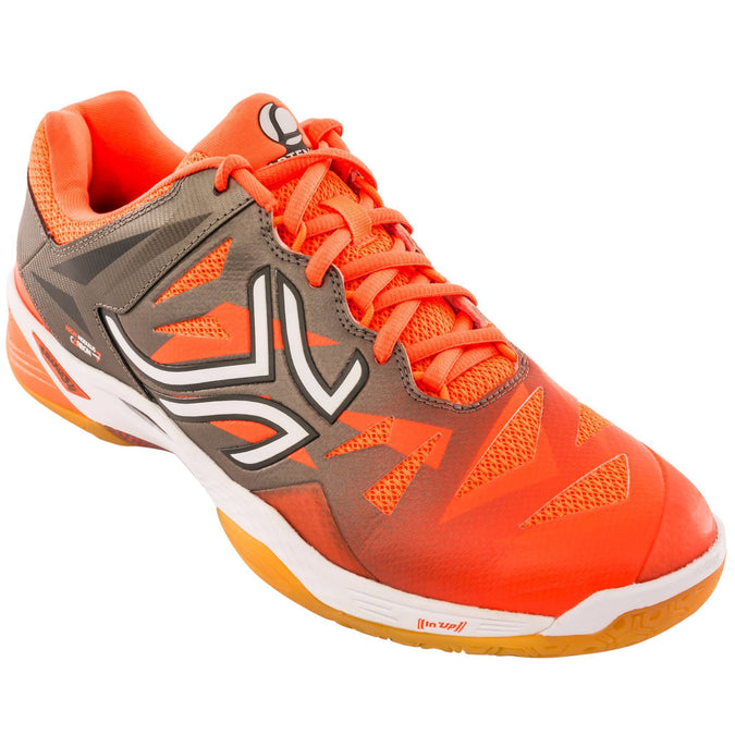 Men's Badminton & Squash Shoes BS990,neon blood orange, photo 1 of 12