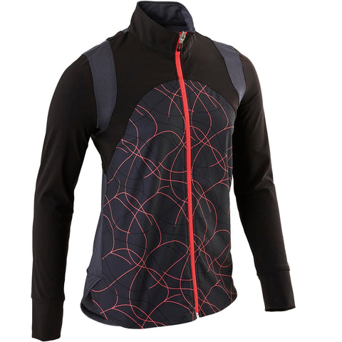 Girls' Gym Jacket Light Breathable S900,