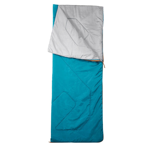 Camping Sleeping Bag Arpenaz 60°F,alpine blue