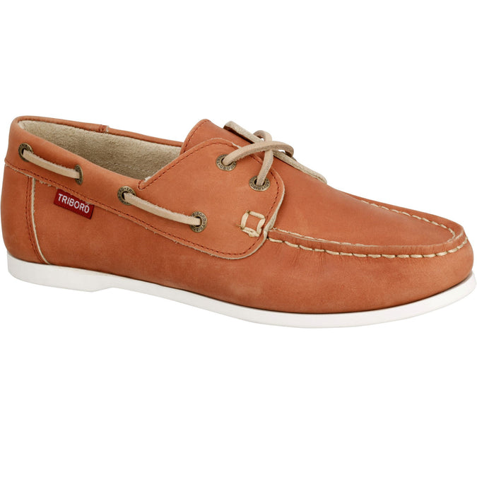 Women's Boat Shoes CR500,hazelnut, photo 1 of 14