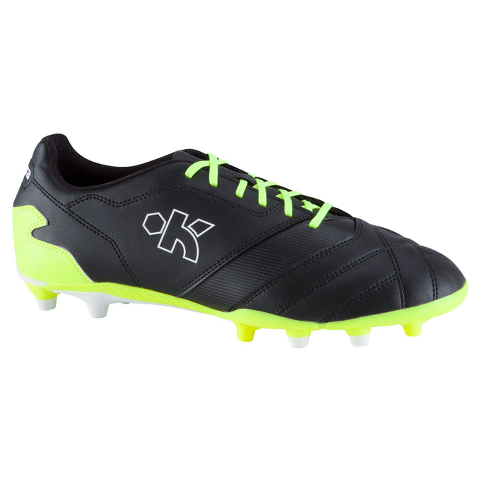 Soccer Firm Ground Shoes Density FG 300,black, photo 1 of 15